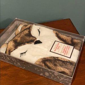 NIB Microwaveable Hottie Fox - Lavender scented